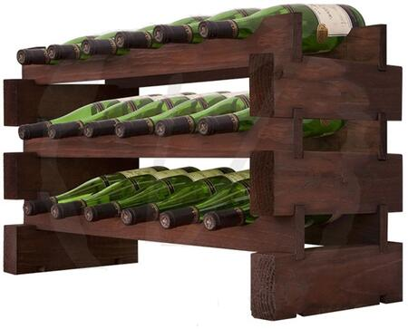 Vinotemp EP4472VIN18S Wine Rack Stained, Main View