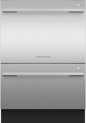 "Fisher Paykel DD24DDFTX9N 24"" Energy Star Double Dishdrawer"
