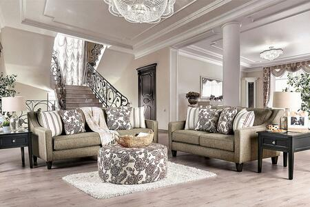 Furniture of America Fillmore SM8350SF3SET Living Room Set Gray, Living Room Set