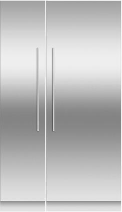 Fisher Paykel  966332 Column Refrigerator & Freezer Set Stainless Steel, Main Image