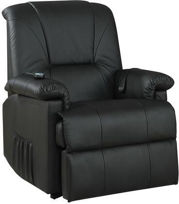 Acme Furniture Reseda 10650 Recliner Chair Black, Recliner