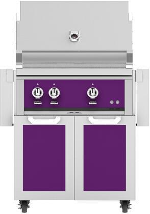 Hestan  852499 Liquid Propane Grill Purple, Main Image