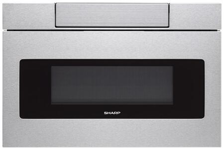SHARP  SMD2470AS Microwave Drawer Stainless Steel, Main Image