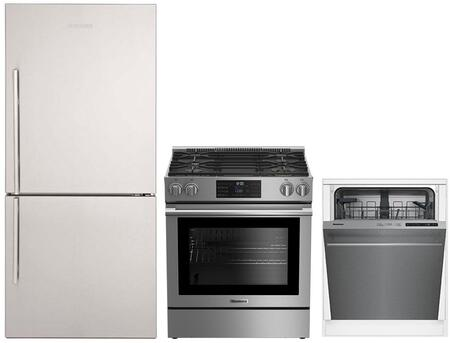 Blomberg 864780 Kitchen Appliance Package Stainless Steel, 1