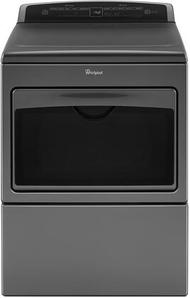 Whirlpool WED7500GC Electric Dryer Chrome, Main Image