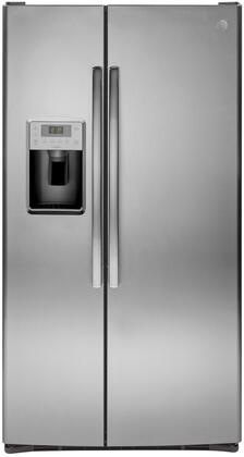 GE Profile PSS28KYHFS Side-By-Side Refrigerator Stainless Steel, PSS28KYHFS Side by Side Refrigerator