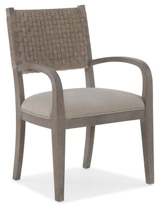Hooker Furniture Miramar - Carmel 620075400GRY Dining Room Chair Beige, Silo Image