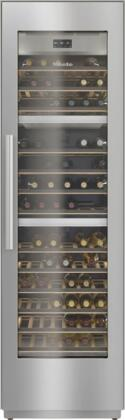 KWT2601SF 24″ MasterCool Series Triple Zone Wine Column with Push2Open  FlexiFrame  BrillantLight LED  WiFiConn@ct  MasterSensor Touch Display  Right