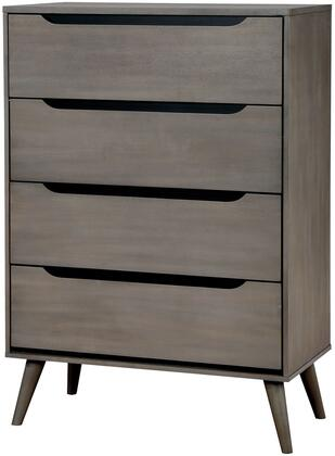 Furniture of America Lennart CM7386GYC Chest of Drawer , 1