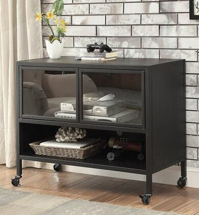 Furniture of America Edvin CM5907TV36 32 in. to 41 in. TV Stand Black, Main Image