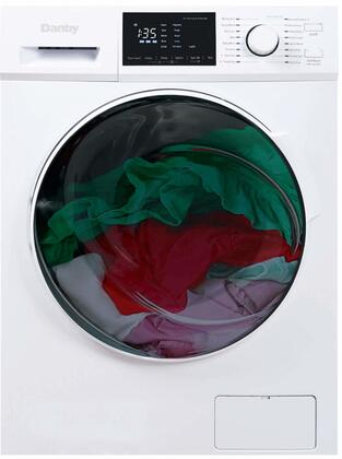 DWM120WDB3 24″ All-in-One Washer Dryer Combo with 2.7 cu. ft. Capacity  16 Wash Dry Programs  Ventless Drying  1300 RPM  in