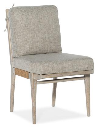Hooker Furniture American Life-Amani 16727531280 Dining Room Chair Gray, Silo Image