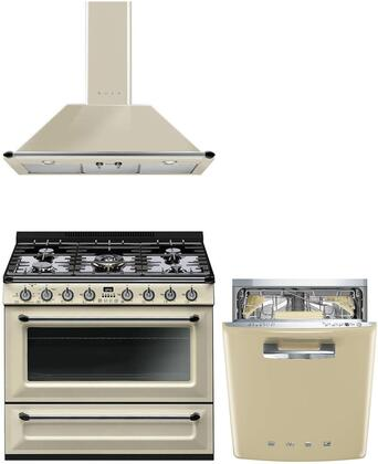 Smeg  1054511 Kitchen Appliance Package Cream, main image