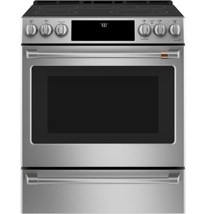Cafe Matte Collection CES700P2MS1 Slide-In Electric Range, CES700P2MS1 Main Image