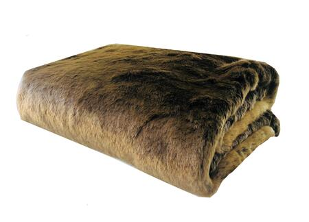 Plutus Brands Tissavel Volga Rabbit Faux Fur PBSF144680X110T Sofa Accessory, PBSF1446