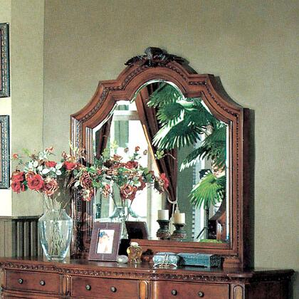 Myco Furniture Hampton HM5706M Mirror Dark wood, 1