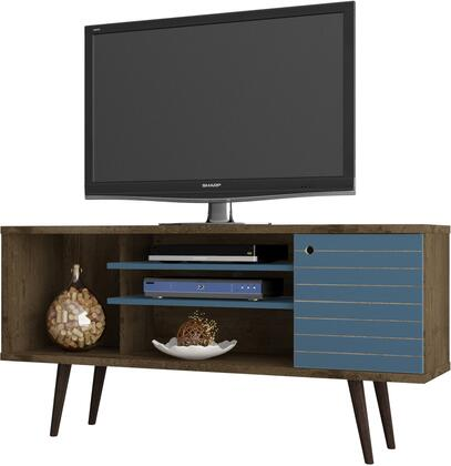 Manhattan Comfort 200AMC93 52 in. and Up TV Stand Blue, 200AMC93 A