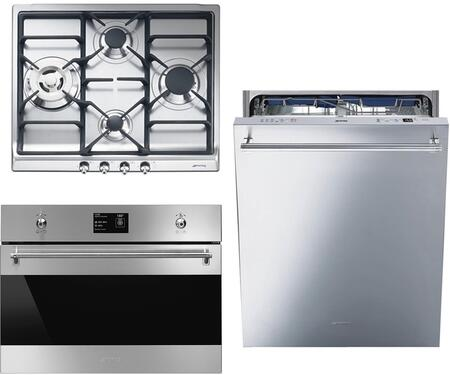 Smeg 890412 Kitchen Appliance Package & Bundle Stainless Steel, 1