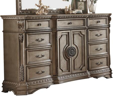 Acme Furniture Northville 26937 Dresser Brown, Angled View