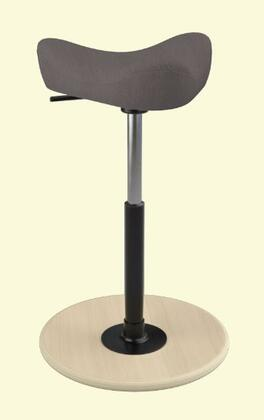 Varier Move Small MOVESMALL2700BREEZEFUSIONBF4001NATSMBLK Office Stool, Main Image