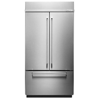KitchenAid  KBFN502ESS French Door Refrigerator Stainless Steel, Main Image
