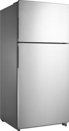 Frigidaire  FFHT1824US Top Freezer Refrigerator Stainless Steel, Main Image