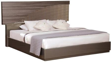 Global Furniture USA North NORTH138KB Bed Brown, Main Image
