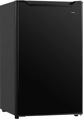 DAR032B1BM 19″ Compact Refrigerator with 3.2 cu. ft. Capacity  Automatic Defrost  Glass Shelves and Mechanical Thermostat in