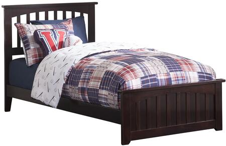 Atlantic Furniture Mission AR8726031 Bed Brown, main image AR8726031 CROP