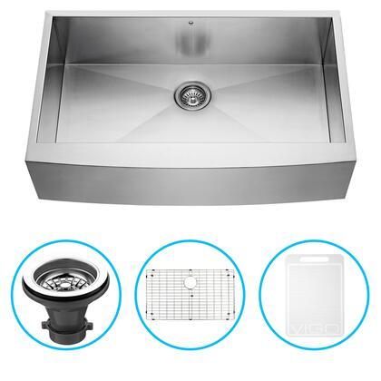 Vigo VG3620CK1 Sink, VG3620CK1 1 B
