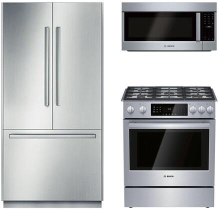 Bosch Benchmark  902745 Kitchen Appliance Package & Bundle Stainless Steel, 1