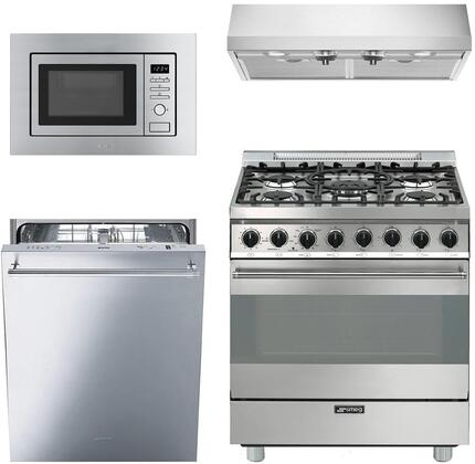 Smeg 890346 Kitchen Appliance Package & Bundle Stainless Steel, main image