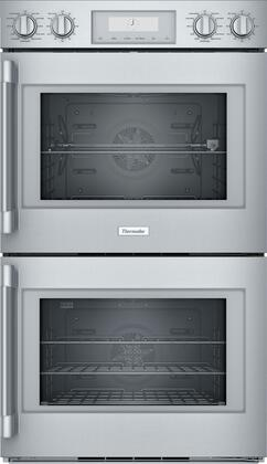 Thermador Professional POD302RW Double Wall Oven Stainless Steel, POD302RW 30-Inch Double Wall Oven with Right Side Opening Door