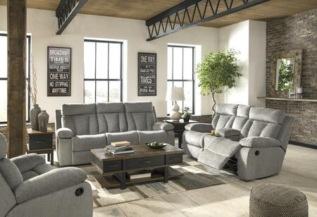 Signature Design by Ashley Mitchiner 76204899425 Living Room Set Gray, Main Image