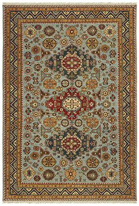 A12306183275ST Rectangle 6′ X  9′ Rug Pad with Oriental Pattern and Handcrafted