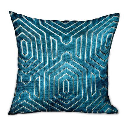 Plutus Brands Cerulean Velvet PBRA23451818DP Pillow, PBRA2345