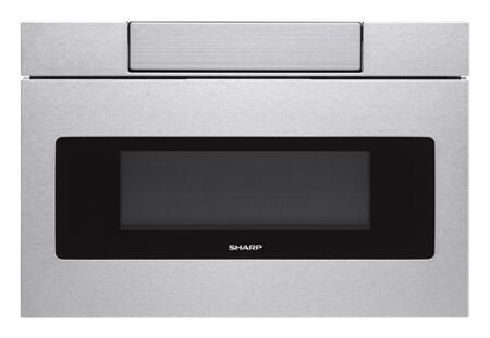 SHARP  SMD3070AS Microwave Drawer Stainless Steel, Main Image