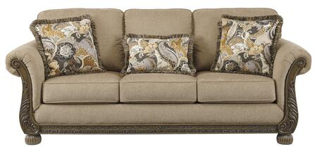 Signature Design by Ashley Westerwood 4960138 Stationary Sofa Brown, 4960138  Front