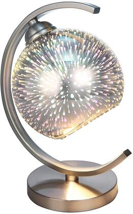 Acme Furniture Gwen 40127 Table Lamp Silver, 1