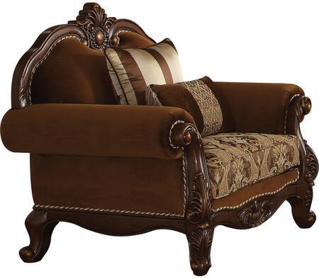 Acme Furniture Jardena 50657 Living Room Chair Brown, 1