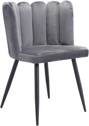 101524 Adele Chair Gray  (Set of
