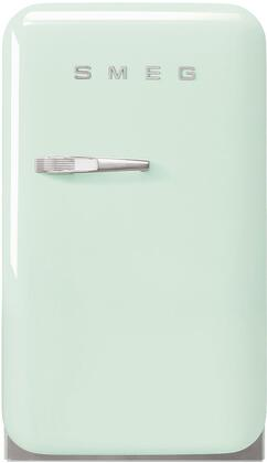 Smeg  FAB5URPG3 Compact Refrigerator , FAB5URPG3 Smeg Compact Refrigerator