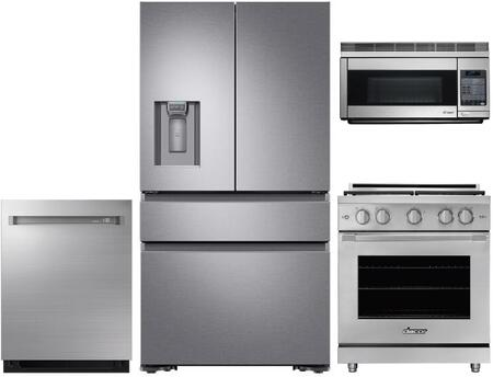 Dacor  1296316 Kitchen Appliance Package Stainless Steel, Main image