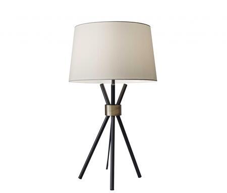 HomeRoots  372639 Table Lamp Black, Main Image