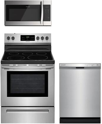 Frigidaire  957929 Kitchen Appliance Package Stainless Steel, Main image
