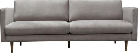 Sage_Collection_SAGESOCG_Sofa_with_Velvet_Upholstery__Stitching_Details__Track_Arms__Tapered_Legs_and_Contemporary_Style_in_Champagne
