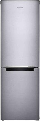 Samsung RB10FSR4ESR 24 Fingerprint Resistant Stainless Steel Bottom Freezer Refrigerator with 11.3 cu. ft. Total Capacity and LED Lighting, Energy Star