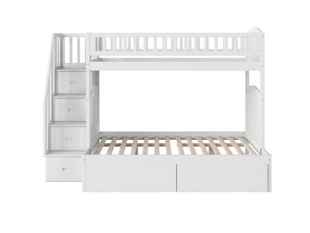 Atlantic Furniture Westbrook AB65742 Bed White, AB65742