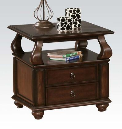 Acme Furniture Amado 80012 End Table Brown, 1