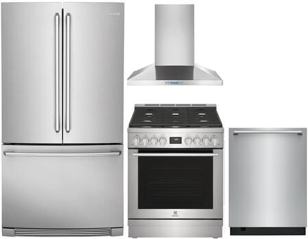 Electrolux 1052296 Kitchen Appliance Package & Bundle Stainless Steel, Main image